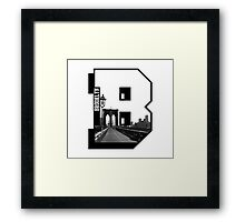 Brooklyn Block Framed Print