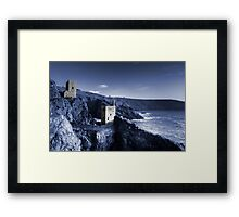Bottallack in blue Framed Print