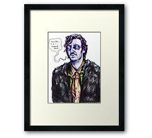 Ghost Howard Framed Print