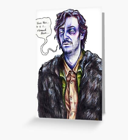 Ghost Howard Greeting Card