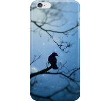 Willowy Crow iPhone Case/Skin