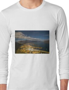 Queenstown from the top Long Sleeve T-Shirt