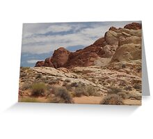Nevada Desert Greeting Card