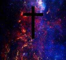 jesus cross by -dope-shit-