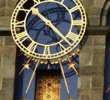 Castle Clock Sticker