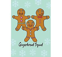 Gingerbread Squad. Photographic Print