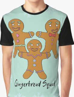 Gingerbread Squad. Graphic T-Shirt