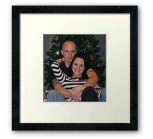 Chris and Mandy Framed Print