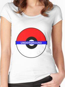 Pokemon Underground Women's Fitted Scoop T-Shirt