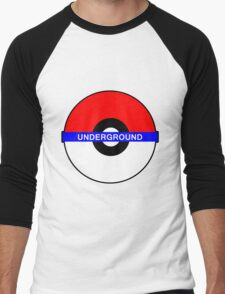 Pokemon Underground Men's Baseball ¾ T-Shirt