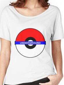 Pokemon Underground Women's Relaxed Fit T-Shirt