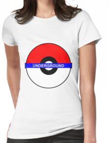 Pokemon Underground Womens Fitted T-Shirt