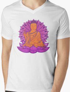 peace buddha in the sky Mens V-Neck T-Shirt