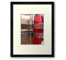 1966 AMC tail light Framed Print