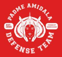 Padme Amidala Defense Team (white text) One Piece - Short Sleeve