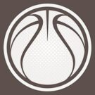 Basketball Graphic Design - White by cpotter