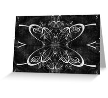 Butterfly Lace Greeting Card