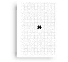 Puzzle Canvas Print