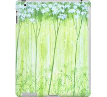 White Forest iPad Case/Skin