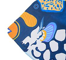iPad case, iPad cover, iPad deflector. tropical fish by terezadelpilar~ art & architecture