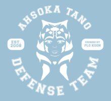 Ahsoka Tano Defense Team (white text) Kids Tee