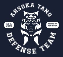 Ahsoka Tano Defense Team (white text) Kids Clothes