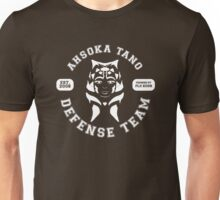Ahsoka Tano Defense Team (white text) Unisex T-Shirt