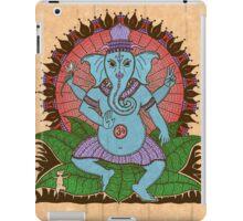 peace ganesh parchment iPad Case/Skin