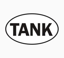 TANK - Oval Identity Sign	 by Ovals