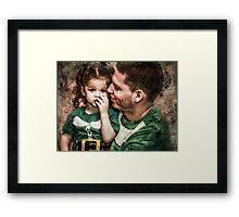 Papa & Lilly Elf Framed Print