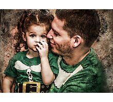 Papa & Lilly Elf Photographic Print