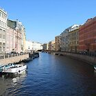 St. Petersburg Canal by BrianFitePhoto