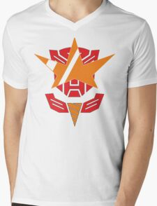 Optimus Lagann or Gurrenbot Mens V-Neck T-Shirt