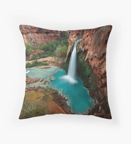 Paradise Canyon Throw Pillow