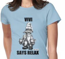 Vivi Says Relax - Sketch em up Womens Fitted T-Shirt