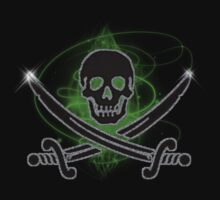 Pirate Warning Tee by VampicaX
