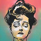 Gibson Girl Original Art by mikewirth