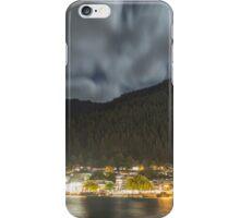 Queenstown night shore iPhone Case/Skin