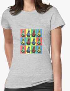 Just Vivi - Mix Colour Grid T-Shirt