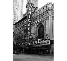 Chicago Theater Photographic Print