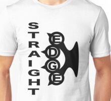 Straight Edge Brass Knuckles Design Unisex T-Shirt