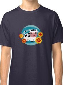 Psychedelic Cow Classic T-Shirt