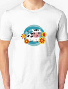 Psychedelic Cow Unisex T-Shirt