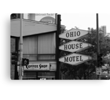 Chicago Motel Canvas Print