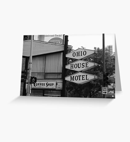 Chicago Motel Greeting Card