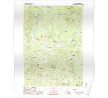 USGS TOPO Map New Hampshire NH Grafton 329581 1987 24000 Poster
