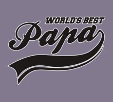 WORLD'S BEST PAPA by mcdba