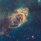 Carina Nebula Pillar iPad Case by ipadjohn
