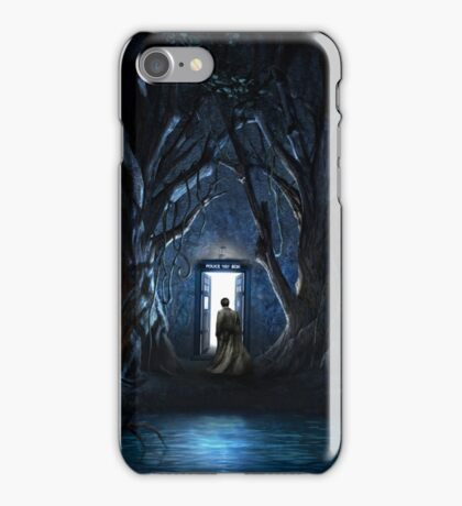 Doors Of Tardis iPhone Case/Skin
