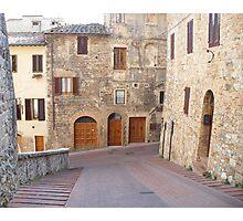 San Gimignano Photographic Print
